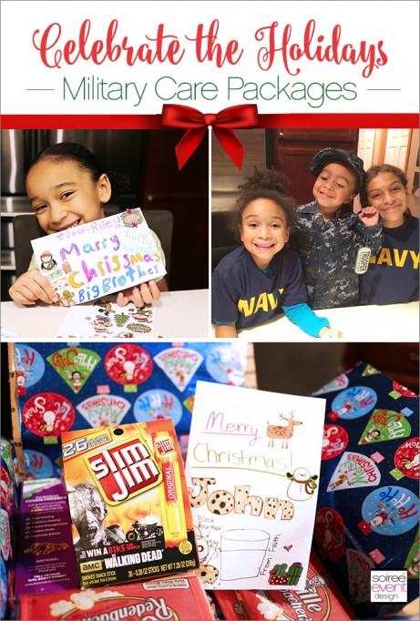 Celebrate the Holidays with Military Care packages