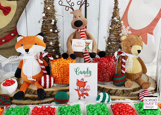 Christmas Woodland Wonderland party