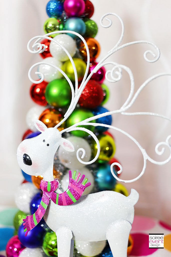 Colorful Reindeer Decorations