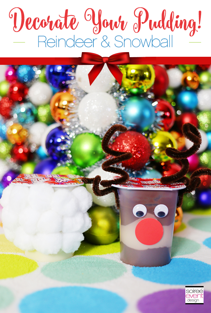 Decorate Pudding Cups