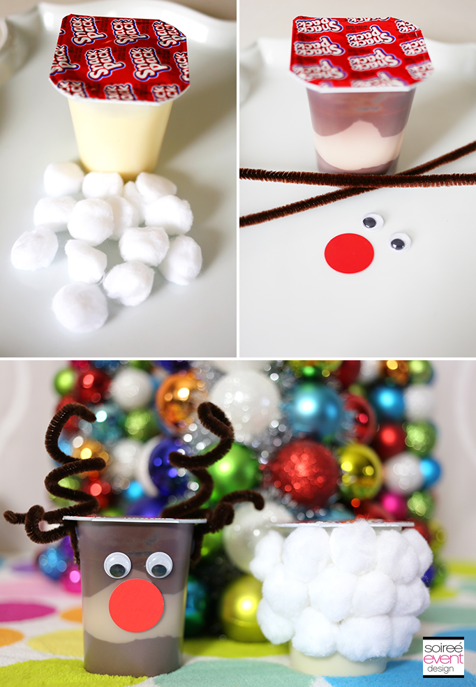 Decorate Snack Pack Pudding Cups