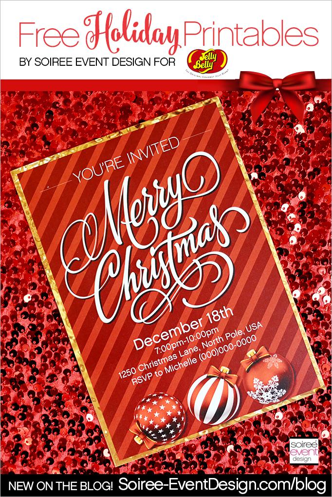 Free Merry Christmas Printables MAIN 1