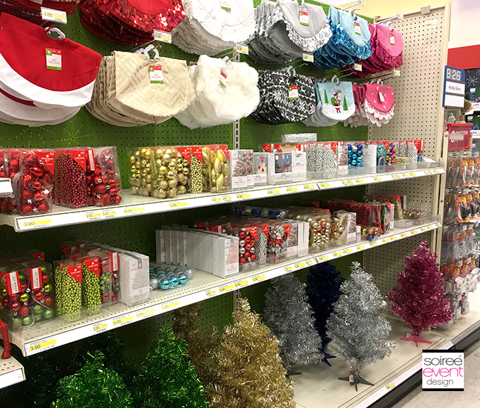 Mini Christmas Trees at Target