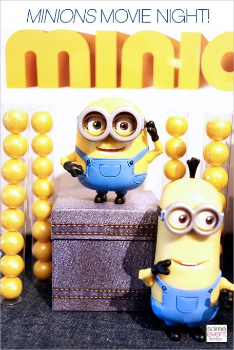 Dinner and a Movie—<em>Minions</em> Family Movie Night!