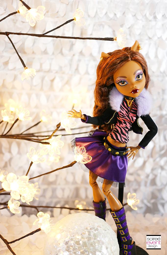 Monster High Clawdeen Wolf doll