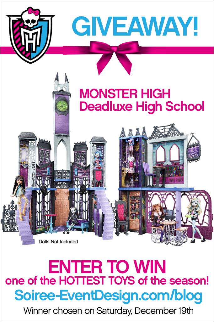 Monster High Deadluxe High School Giveaway