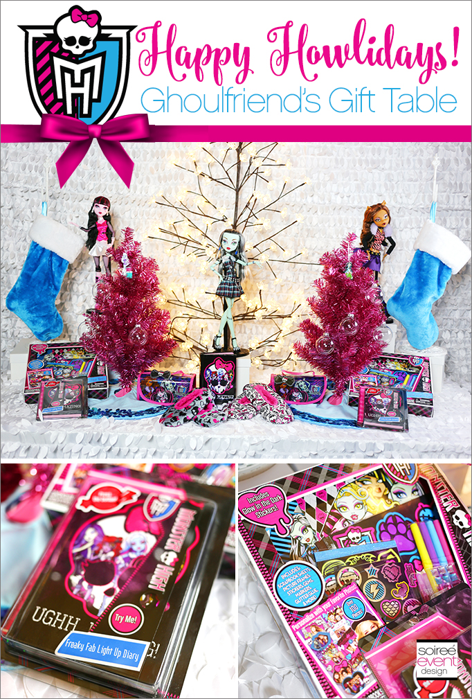 Monster High Happy Howlidays Gift Table
