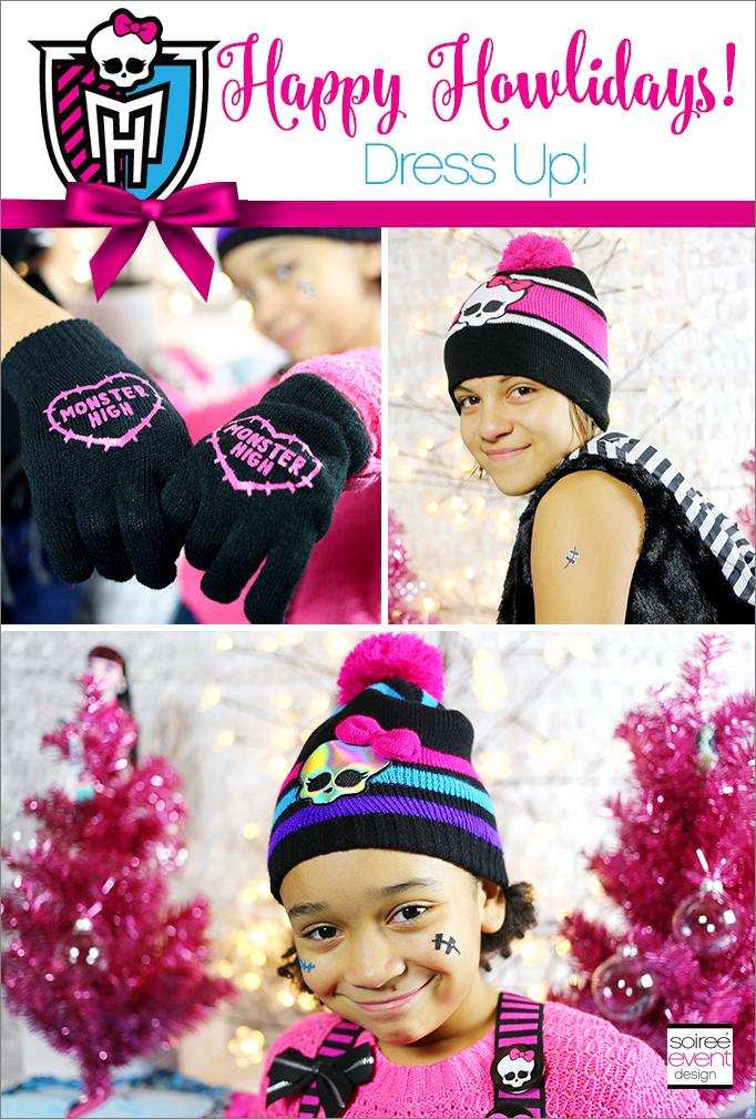 Monster High Happy Howlidays Winter Dress Up