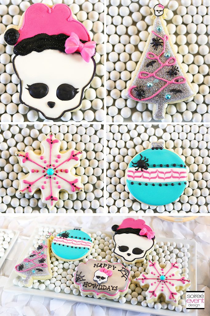 Monster High Iced Cookies