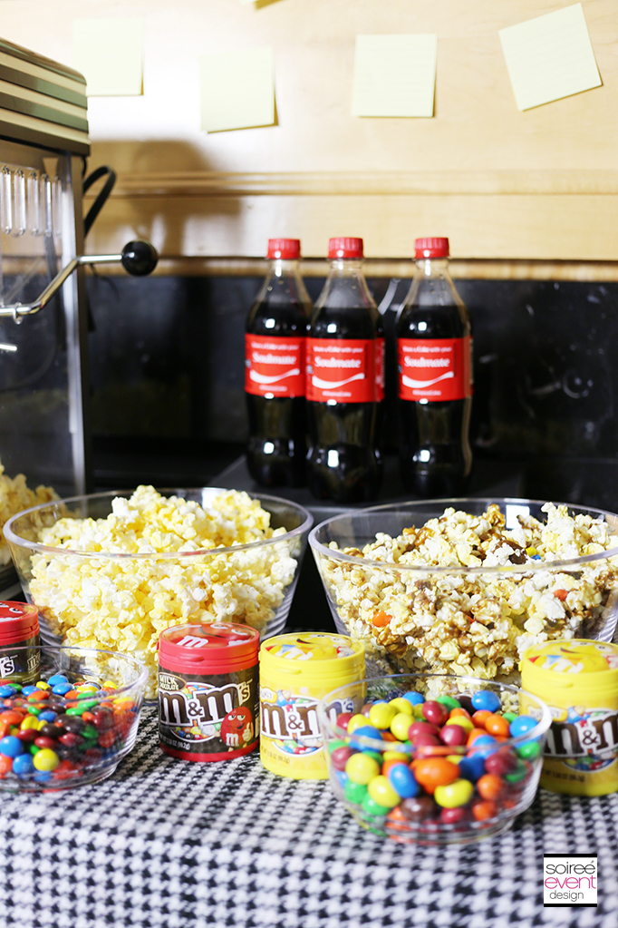 Family Movie Night Featuring War Room Soiree Event Design