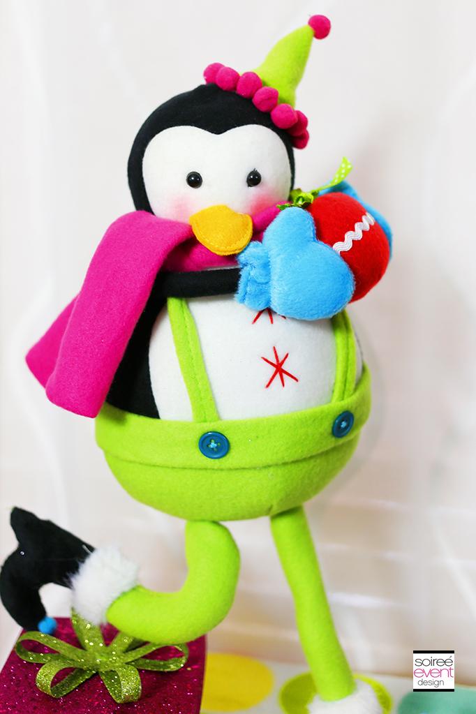 Penguin Christmas decorations