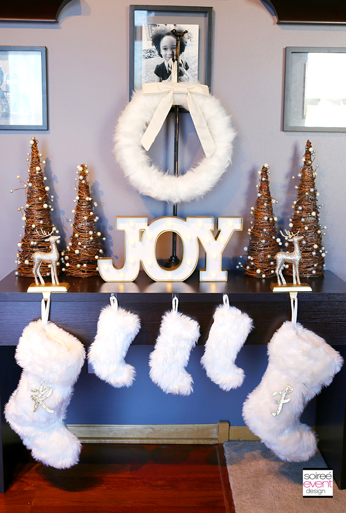 Rustic Chic Christmas Decorations