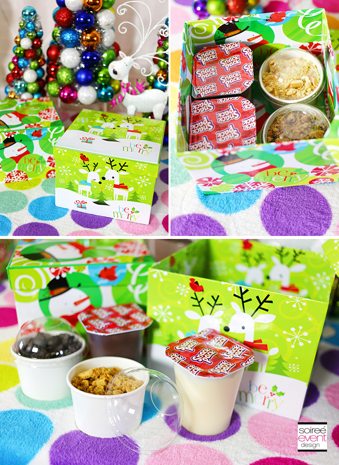 Snack Pack Pudding Gifts