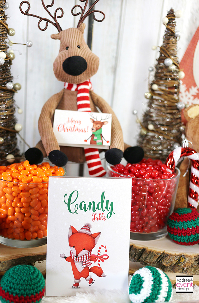 Woodland Wonderland Candy Table