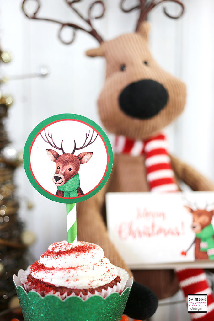 Woodland Wonderland Cupcake Toppers