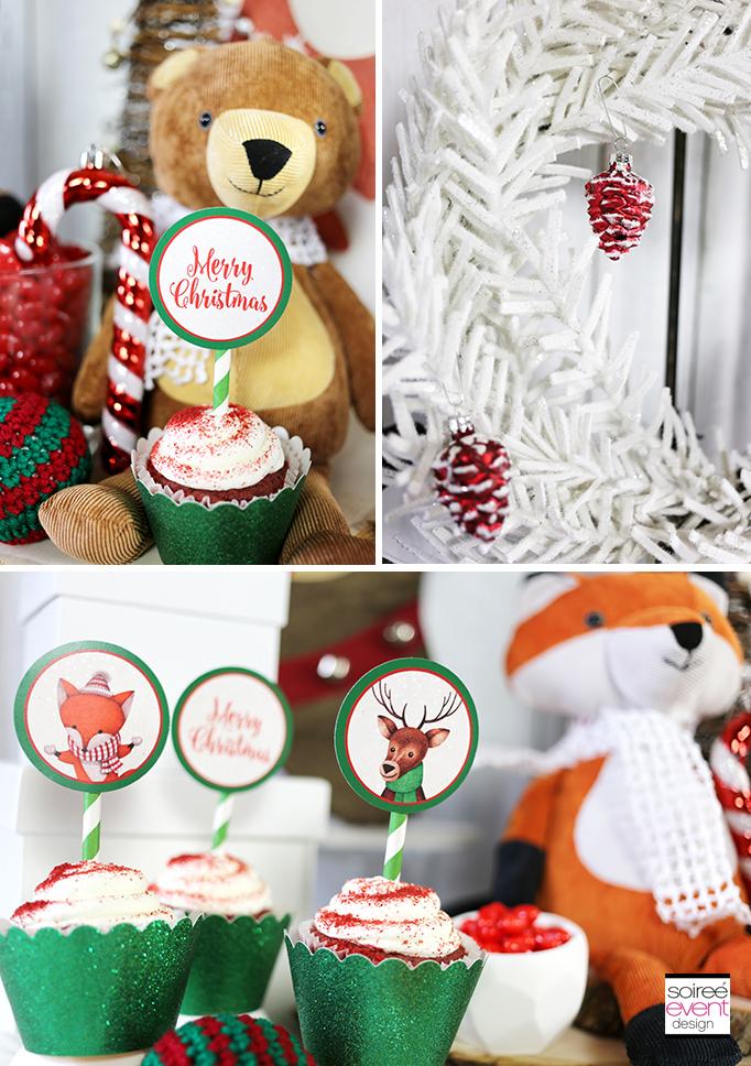 Woodland Wonderland Cupcakes