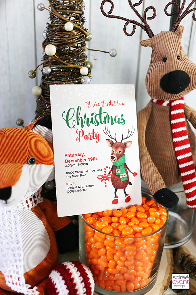 Woodland Wonderland Party Invitations