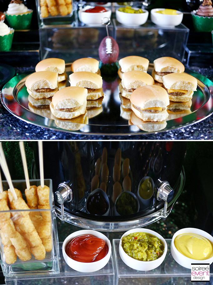 Mini Burgers Football Game Day Snacks