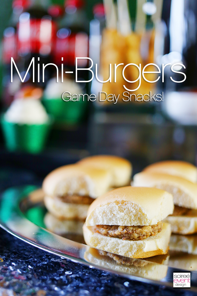 Mini Burgers Game Day Snacks