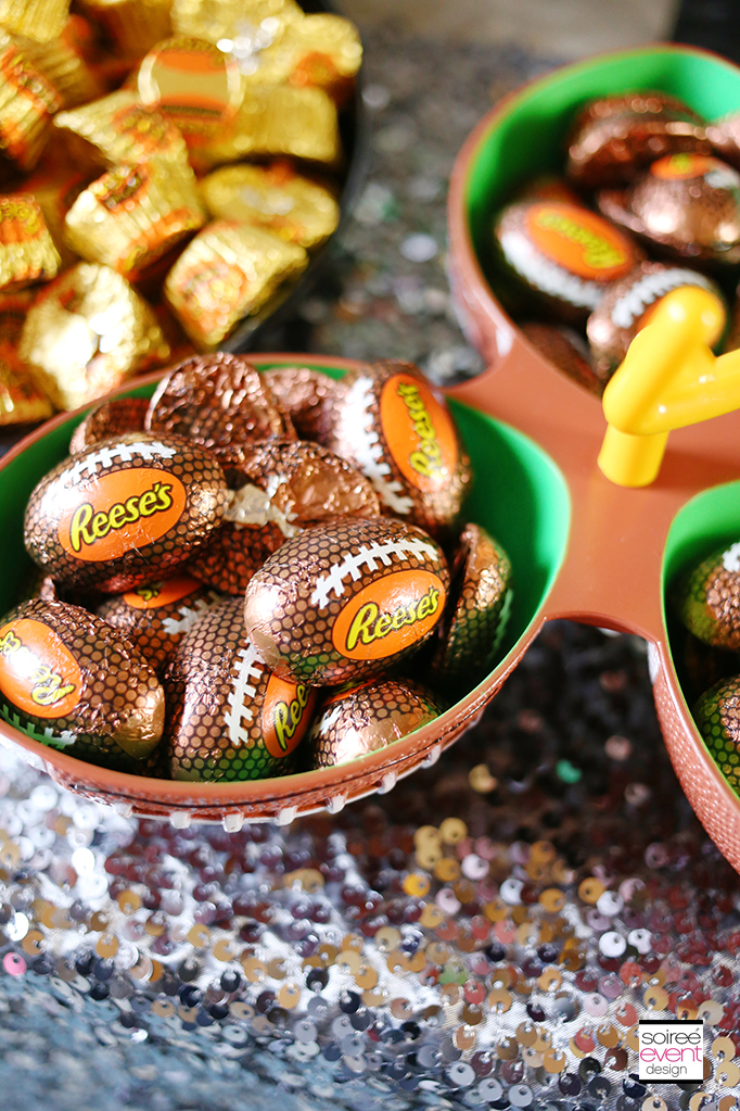 Reeses Peanut Butter Cup Footballs