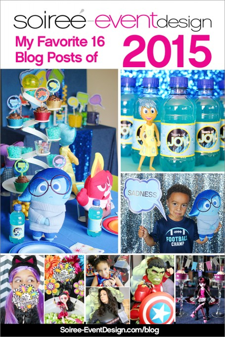 Happy New Year!  A Look Back At My Favorite Posts of 2015