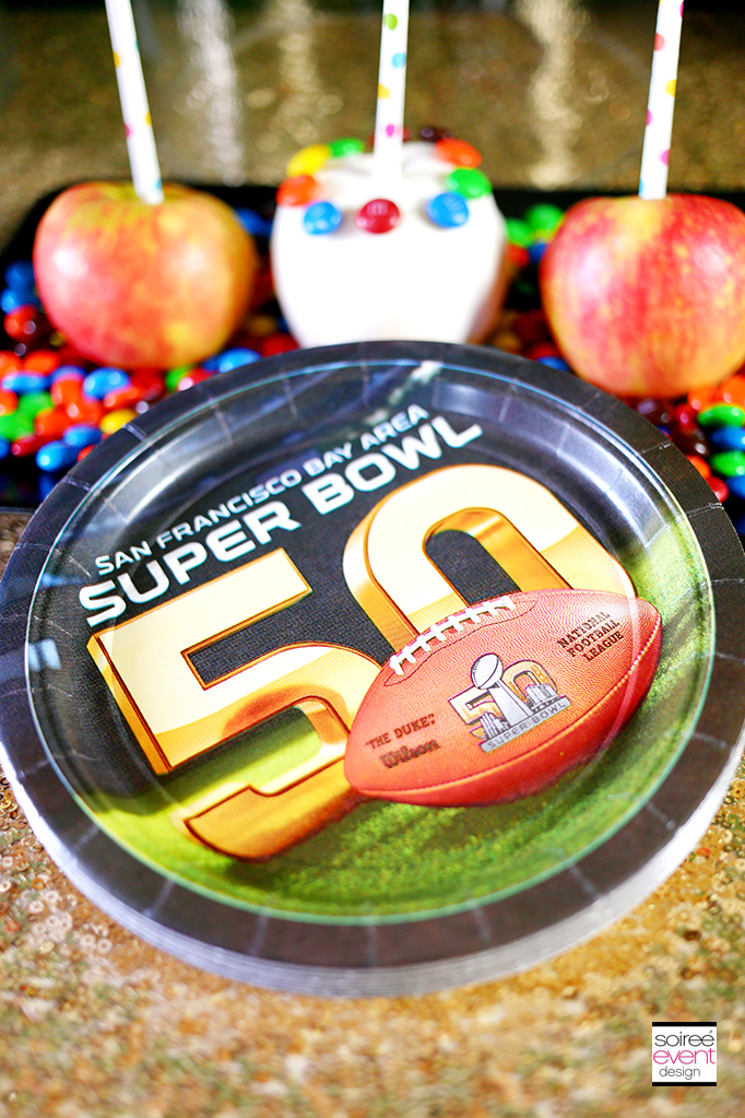 Skittles taste the rainbow super bowl 50 party candy for Super bowl party items