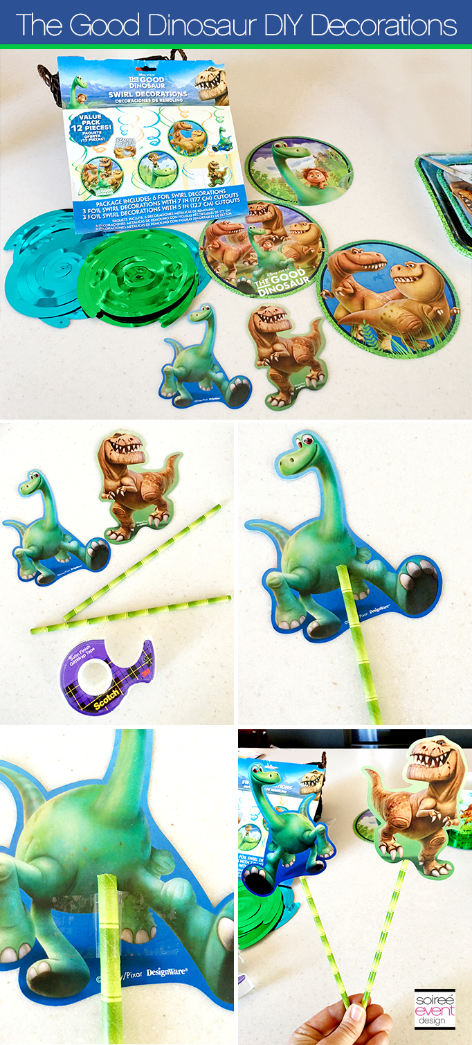 The Good Dinosaur DIY Party Decorations 2