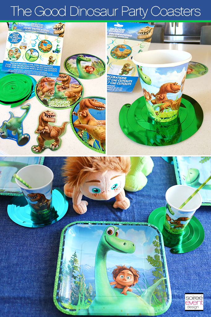 The Good Dinosaur DIY Party Decorations