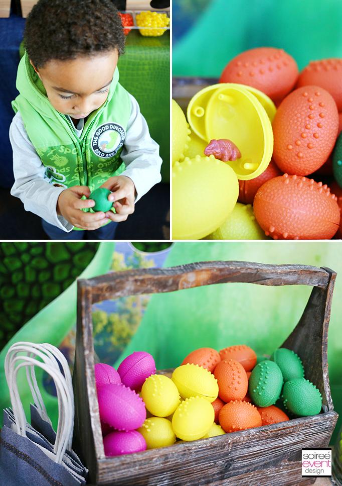 The Good Dinosaur Party Activity - Dino Egg Hunt