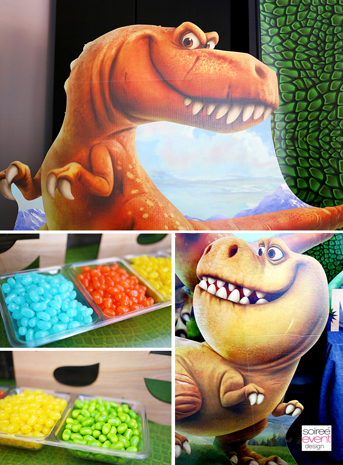 The Good Dinosaur Party Candy Buffet