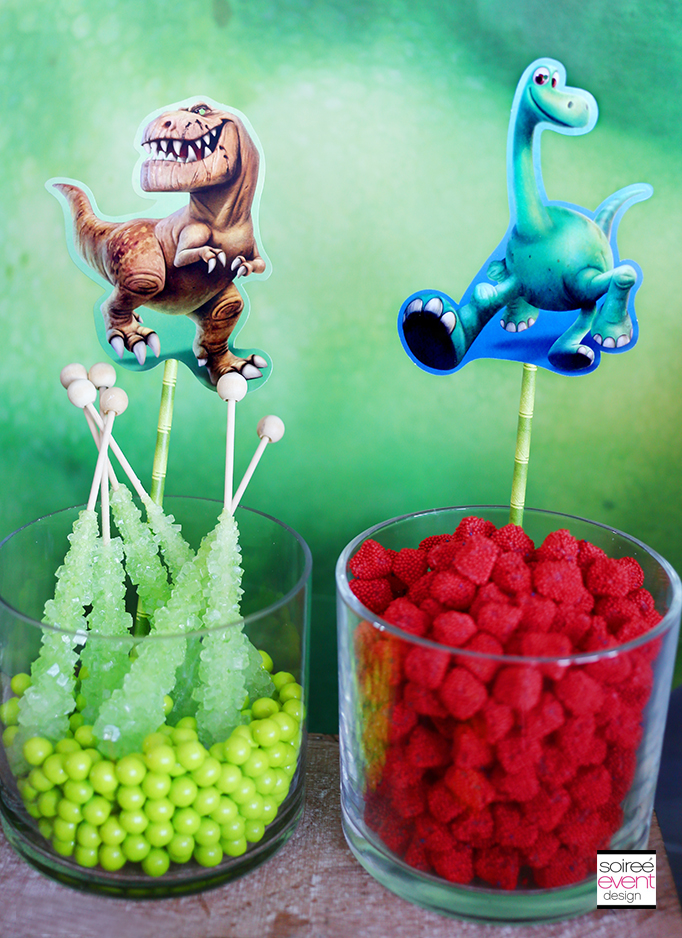 The Good Dinosaur Party - Candy Station