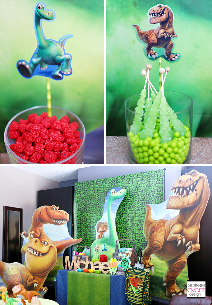 The Good Dinosaur Party Candy Table