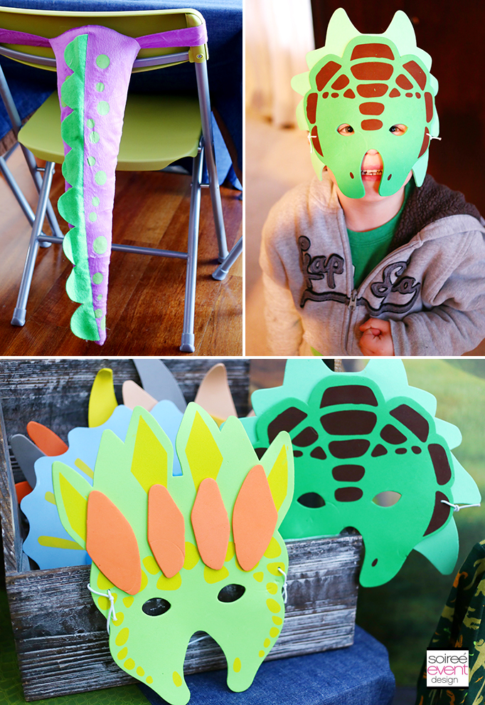 The Good Dinosaur Party - Dinosaur Masks