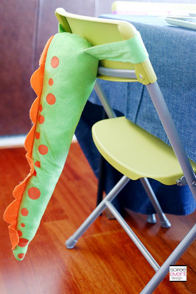 The Good Dinosaur Party - Dinosaur Tail Chairs