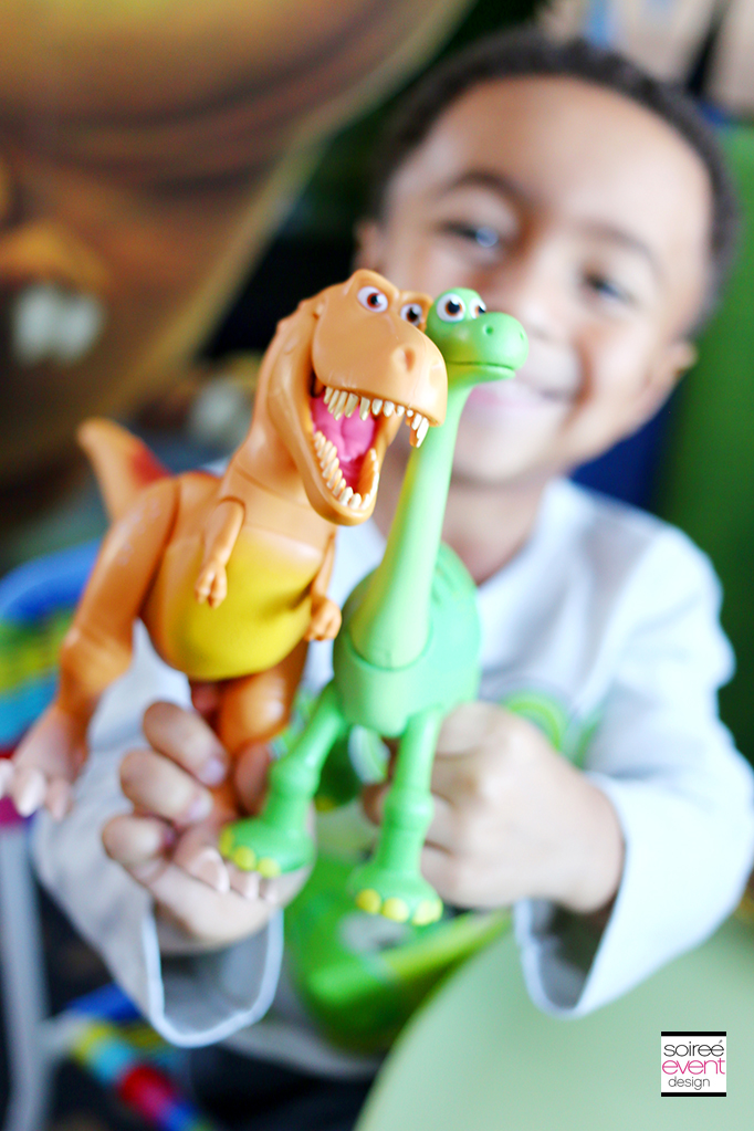 The Good Dinosaur Party Games
