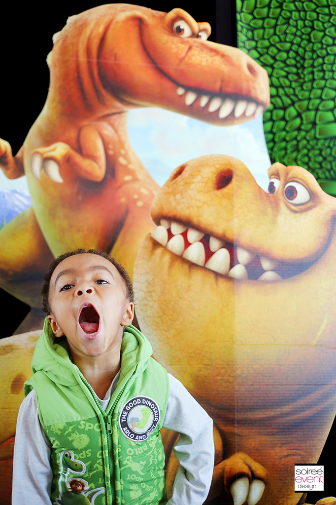 The Good Dinosaur Party - Photo Booth Props
