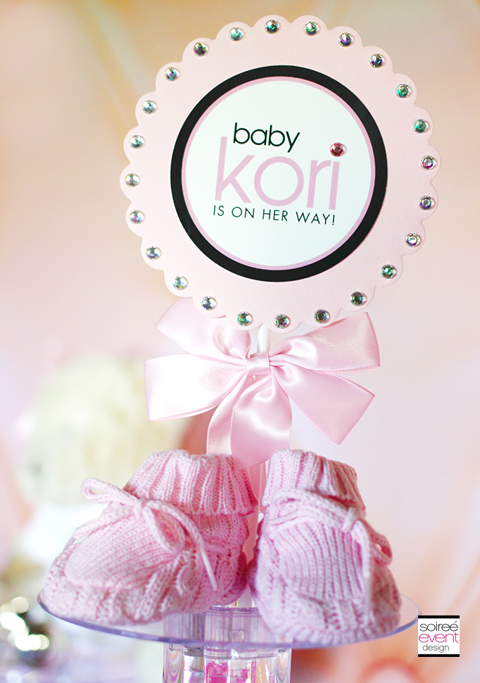Girly Baby Shower Printables