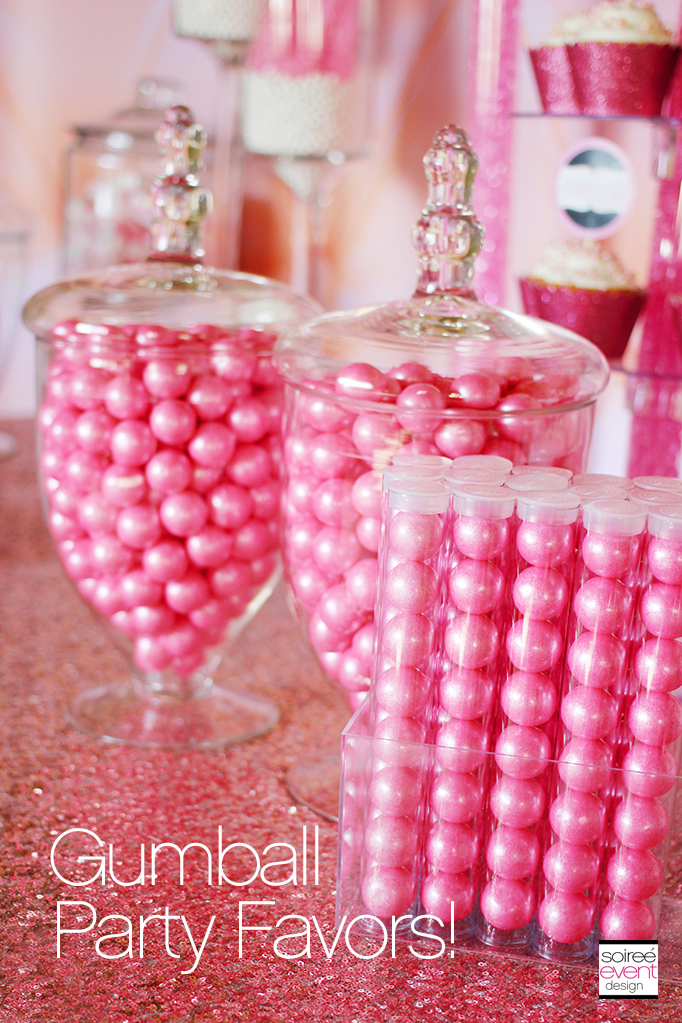 Gumball party favors