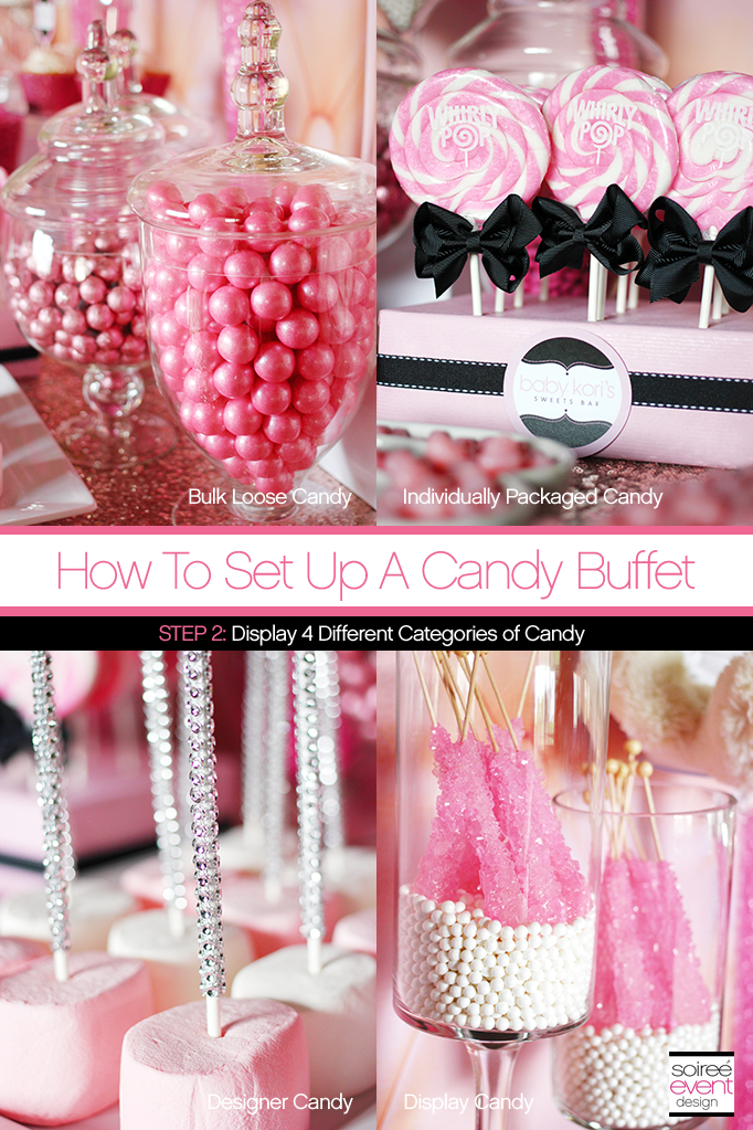 How to Set Up a Candy Buffet 2