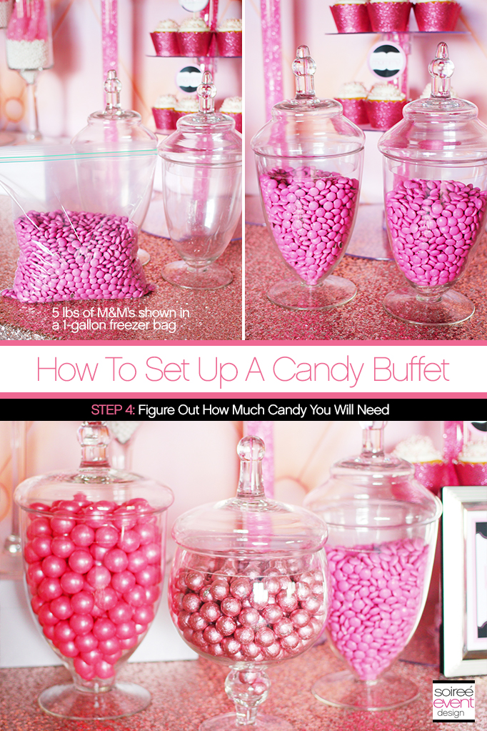 How to Set Up a Candy Buffet 4