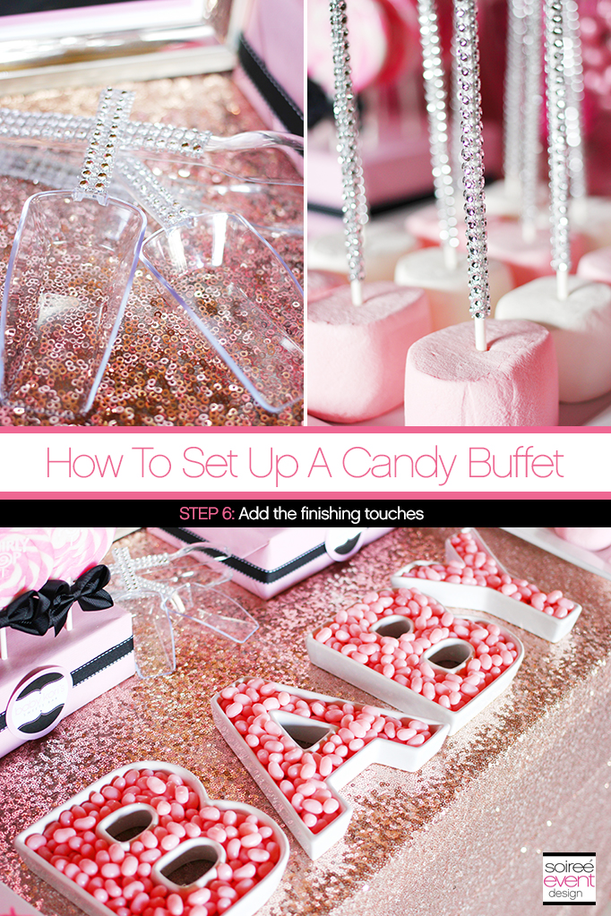 How to Set Up a Candy Buffet 6