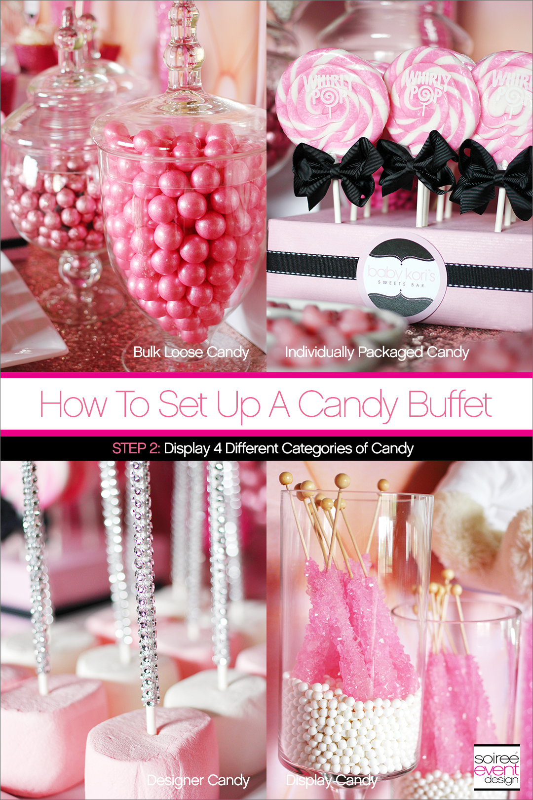 How To Set Up A Candy Buffet + How Much Does A Candy Buffet Cost ...
