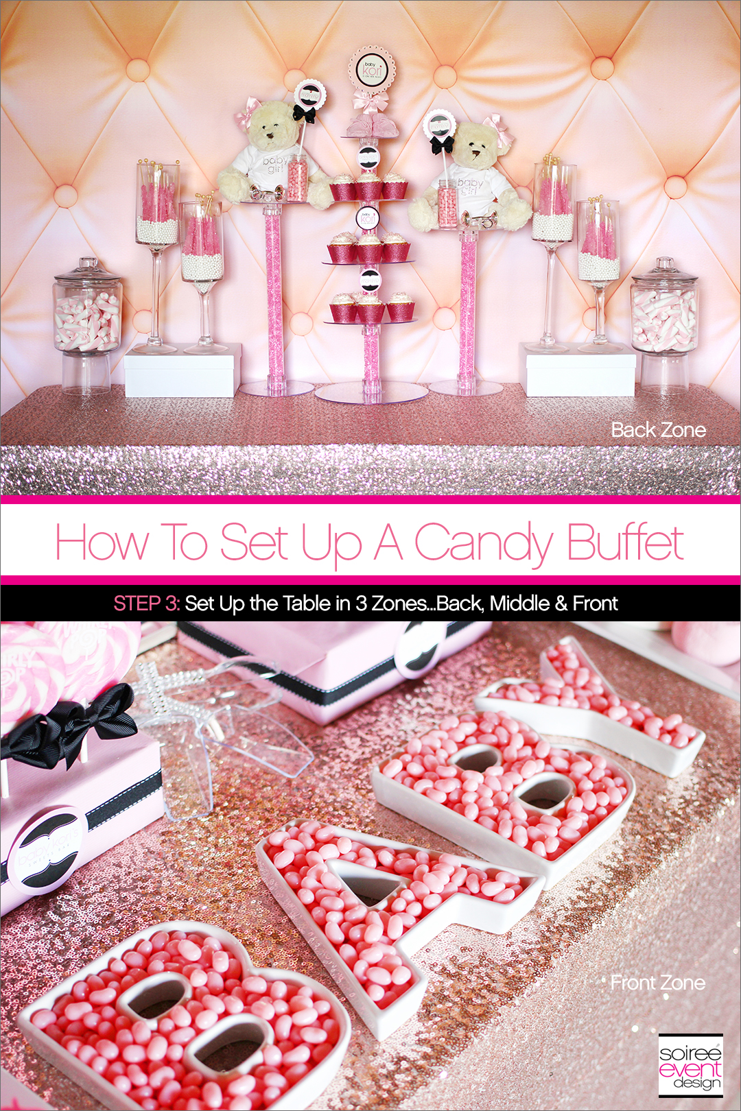 How to Set Up a Candy Buffet Step 3