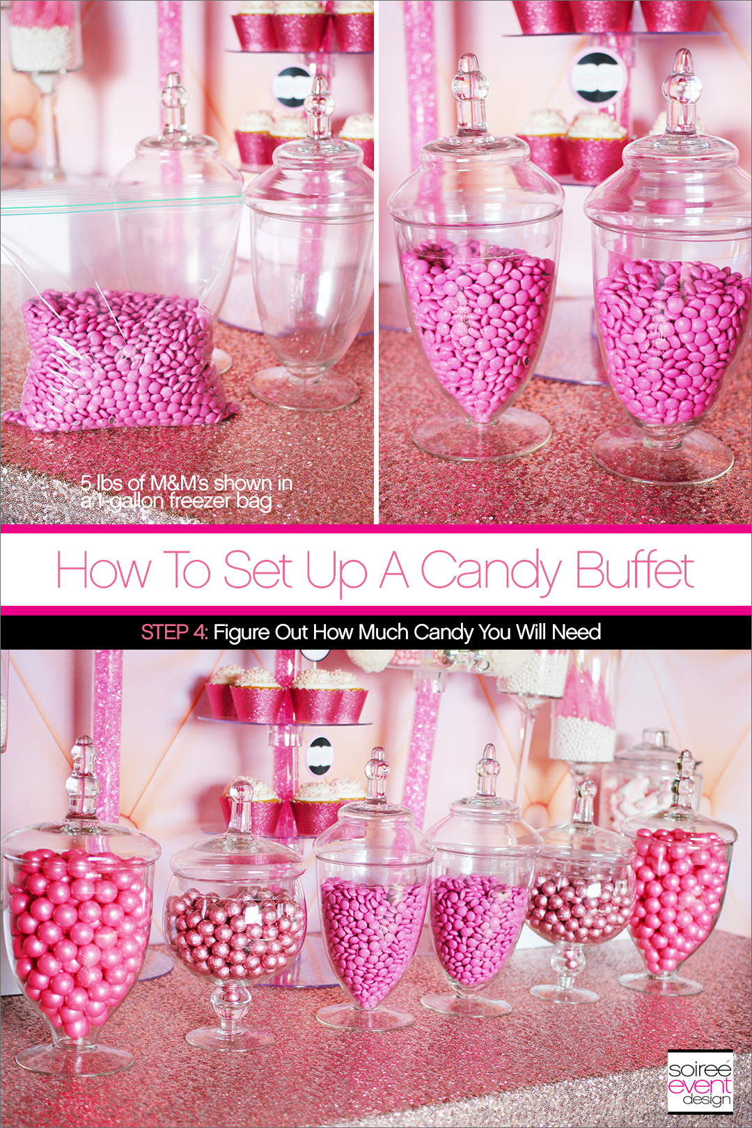How to Set Up a Candy Buffet Step 4