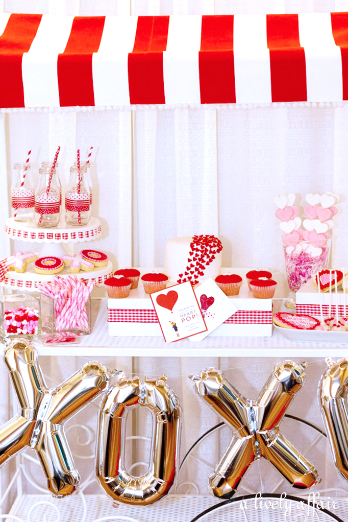 How to style a Dessert Cart