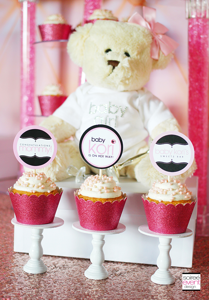 Personalized Printable Cupcake Toppers