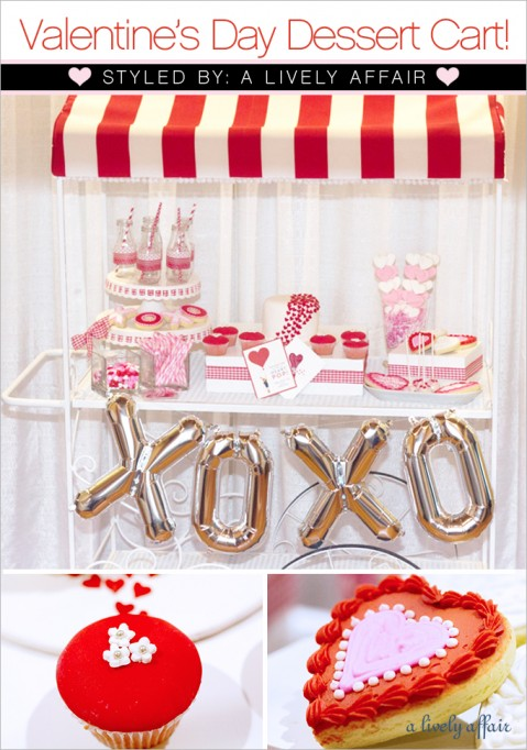 TREND ALERT:  Valentine's Day Dessert Cart Guest Feature