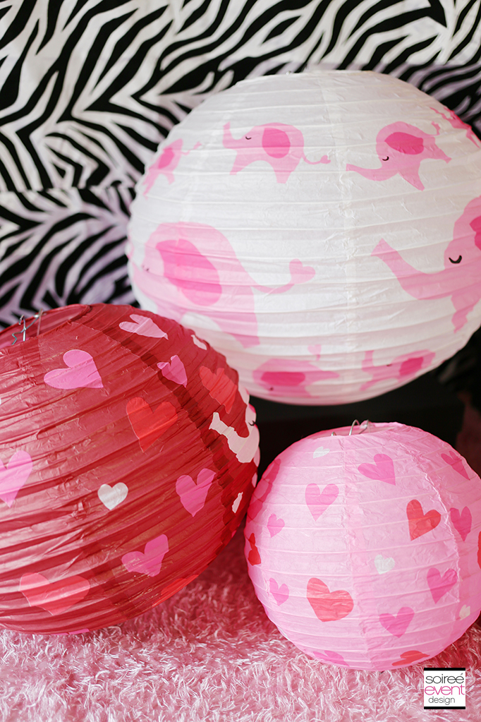 Valentine's Day Party - Heart Lanterns