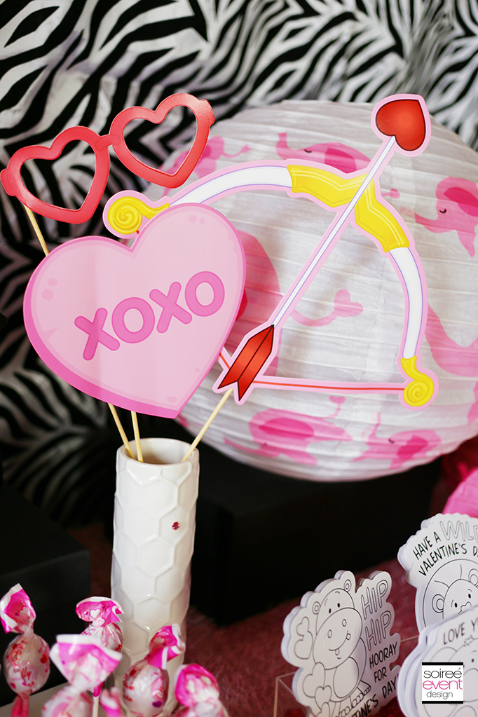 Valentine's Day Photo Prop Sticks