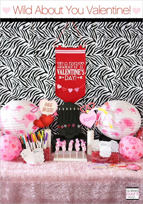 Wild About You Valentine's Day Party Playdate!